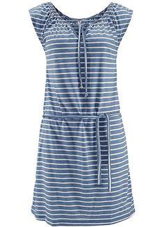 Blue Striped Beach Dress by Venice Beach