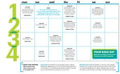 Yes, you can run a 6.2-miler in four weeks with just three workouts a week. Youll earn serious bragging rights and burn some 650 calories. We mapped out a simple calendar thatll help you get there.