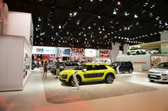 Citroën #MondialAuto #Stand #Citroen #C4Cactus