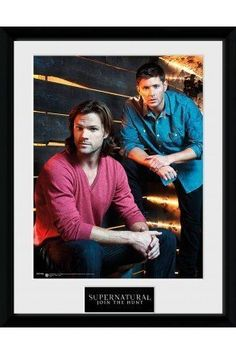"Brothers/"" Framed Photograph Gb Eye Limited Gb Eye 16 x 12-inch /""supernatural"