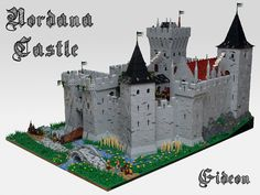 Nordana Castle | Flickr - Photo Sharing! Lego Structures, Minecraft Medieval, Amazing Lego Creations, Lego Builder, Lego Modular, Lego Architecture, Lego Projects, Custom Lego, Lego Moc
