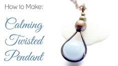 FREE Pattern: Twist and Shout Pendant   Wire Jewelry Free Patterns ...