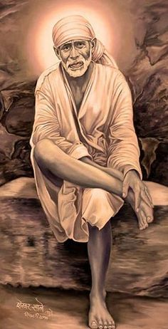 Consider Me as your sole thought, definitely, you will reach Paramatma..- Shirdi Sai Baba #ShirdiSaiBabaWords