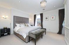 Ceiling cornice curtain pelmet - bedrooms