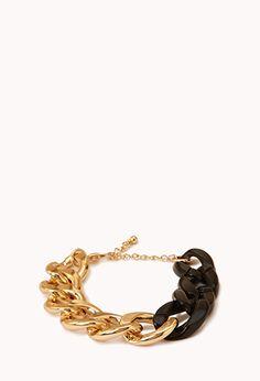 Modernist Curb ChaIn Bracelet | FOREVER21 - 1000051192