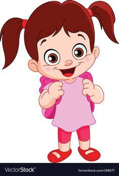 Royalty-Free Vector Images by yayayoy (over Urdu Stories For Kids, Moral Stories For Kids, Cute Cartoon Boy, Cartoon Kids, Kids Cartoon Characters, Page Decoration, School Cartoon, Emoji Images, Cute Bee