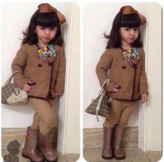 Little fashionista! www.fashionkids.nu
