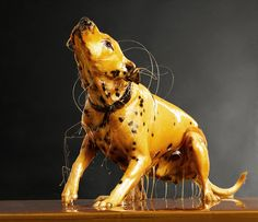 Blake Little - Preservation Series: honey covered humans, and even a dog.