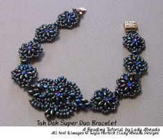 "Beading Tutorial ""Tah Dah"" Super Duo/Twin Bracelet PDF File Format INSTANT DOWNLOAD on Etsy, $8.50"
