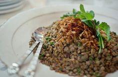 Salada de lentilha com cebola caramelizada | Panelinha - Receitas que funcionam