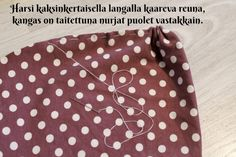 DIY Turbaanipipo rusetilla - Punatukka ja kaksi karhua Turban Tutorial, Hair Bow Tutorial, Diy Baby Headbands, Diy Headband, Sewing Hacks, Sewing Crafts, Ribbon Hair Bows, Ribbon Rose, Ribbon Flower Tutorial