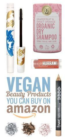 ♥ Vegan Products ♥ Everyone's favorite online retailer has a wide variety of cruelty free, organic, and vegan brands at the ready. Who's ready to shop?