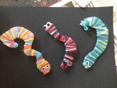Wooly Snakes 2013 Grade 3, Snakes, Art, Craft Art, Kunst, A Snake, Snake