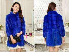 Graceful Real Mink Fur Coats For Womens Elegant Mink Fur Soild Overcoat Winter Natural Mink Fur Outwear LX00384-in Fur & Faux Fur from Women's Clothing & Accessories on Aliexpress.com | Alibaba Group