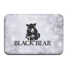 Aweson Black Bear Outdoor Or Indoor Exclusive Mat >>> Awesome product. Click the image : home diy garden