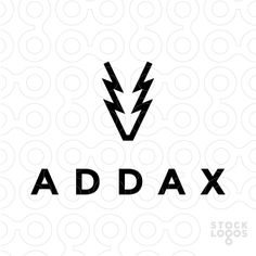 Exclusive Customizable Logo For Sale: Addax | StockLogos.com  #animal #deer #antelope #horns #horn #logo #design #minimal #minimalist #wildlife