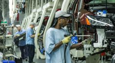 In this June 2013 file photo, workers assemble Volkswagen Passat sedans at the German automaker's plant in Chattanooga, Tenn. AP There . Robotic Welding, Work Family, Urdu News, Forced Labor, Working Class, Right Wing, Made In America, Workplace, Photography