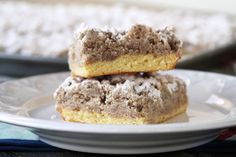 Old Fashioned Crumb Cake | My Life as a Mrs