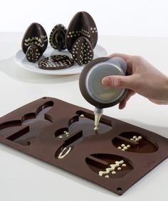 Lekue Silicone 3D Easter Egg and Rabbit Mould $23.99