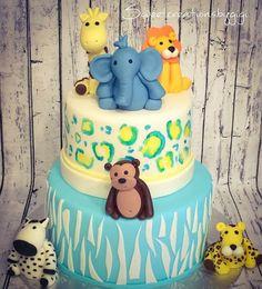 Items similar to Set of 6 Jungle Animals Cake Toppers on Etsy Fondant Cake Toppers, Jungle Animals, Safari, Birthday Cake, Handmade Gifts, Desserts, Etsy, Food, Kid Craft Gifts