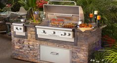 american outdoor grill | -in grills to match your custom outdoor kitchen. Choose your grill ...
