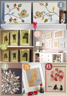 The best DIY projects & DIY ideas and tutorials: sewing, paper craft, DIY. Diy Crafts Ideas Tons of ideas on how to decorate your home using inexpensive scrapbook paper! Diy Home Crafts, Crafts To Do, Diy Home Decor, Decor Crafts, Diy Wall Art, Diy Art, Wall Decor, Diy Projects To Try, Craft Projects