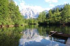 Gmunden, Gmunden, Austria - Lake in Grunau