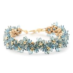 Delicate Blossom Bracelet Kit - Vintage - Exclusive Fusion Beads Kit This is such a gorgeous bracelet - the colors are amazing! Easy to bead weave quickly.   https://www.amazon.com/dp/B075M5H67P/ref=cm_sw_r_pi_dp_x_9AUYzbMR9PJYJ