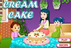 Cream cake Cooking with use lets add some extra topping and cream on the top of cake in this free Online Cooking Game and have fun while baking it! Cake Games, Cooking Games, Play Food, Cream Cake, Betty Boop, Cake Recipes, Pictures, Fun, Custard Cake