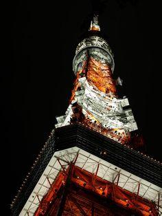 東SHINTOKYO京 — lshldav: 東京タワー(再)02 : 狂った欲望の記録。 Tokyo Tower, Empire State Building, Places To Visit, Architecture, City, Photography, Travel, Japanese, Arquitetura