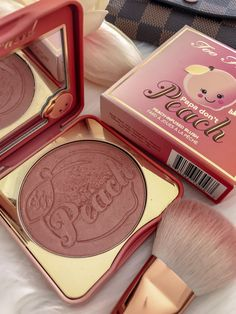 Adorable Papa Don't Peach Blush from Too Faced - #ad #cosmetics #makeup #beauty