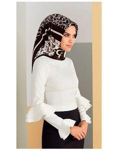 Armine Giyim Sonbahar Kış Tesettür Bluz ve Gömlek Modelleri-9