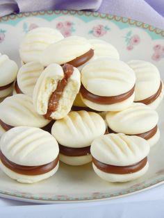 Bakery Recipes, Cookie Recipes, Dessert Recipes, Oreo Desserts, Condensed Milk Cookies, Delicious Desserts, Yummy Food, Boston Cream Pie, Sweet Recipes