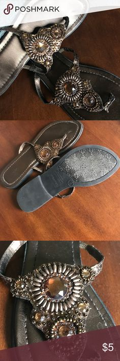 Sandals Worn but still have lots of life. Quality is 6 out of 10. Xhilaration Shoes Sandals