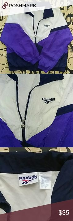 90's style Reebok windbreaker 90's style Reebok windbreaker size Large Reebok Jackets & Coats Windbreakers