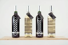 Swallowtail Vineyards by Amber Newman, via Behance