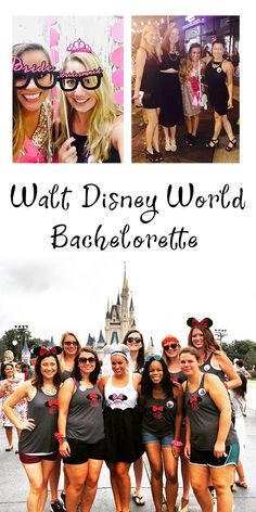 55 Trendy Wedding Disney World Bachelorette Parties Disney Bachelorette Parties, Bachelorette Party Decorations, Bachelorette Weekend, Wedding Decorations, Walt Disney World, Wedding Party Games, Wedding Invitations With Pictures, Wedding Hairstyles Half Up Half Down, Trendy Wedding