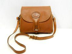 Dooney and Bourke Essex Cross Body Bag // British Tan on British Tan AWL