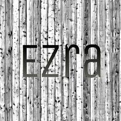 Ezra / Hebrew: help