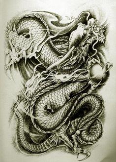 Dragon Tattoo Designs | ... Oriental Dragon Tattoo Designs » Oriental Dragon Tattoo Style (24