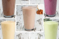 These Protein Smoothies Are Far From Boring, Protein-pack your mornings with these protein smoothies 5 ways!