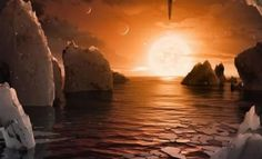 NASA Space Astronomers Discovered 7 New Earth Sized Planets near Star Using a network of Telescopes World Wide. Just the News has Confirmed by NASA Space Agency Nasa Telescope, Spitzer Space Telescope, Nasa Space, Space Probe, Cosmos, Planetary System, Nature Landscape, Alien Planet, Alien Worlds