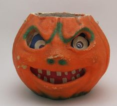 A paper-mache jack-o'-lantern and the story of how Halloween went from handmade to pre-packaged candies. Halloween Books, Halloween Items, Halloween Candy, Vintage Halloween, Halloween Decorations, Homemade Halloween Treats, Crepe Paper Decorations, Plastic Pumpkins, Favorite Holiday