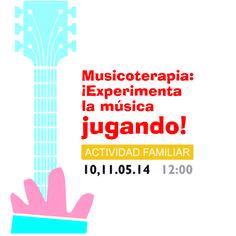 Taller: Musicoterapia: ¡ Experimenta la música jugando!