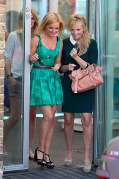 Emma Bunton and Geri Halliwell - Spice Girls - Marie Claire - Marie Claire UK