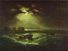 Fishermen at the Sea
