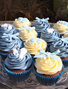 New Baby Boy Cupcakes Cake Tutorials And Tips Baby Boy Cupcakes