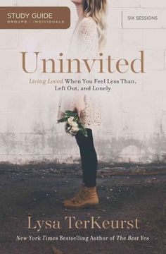 In this six-session video Bible study bestselling author Lysa TerKeurst helps women to explore the roots of rejection; the lies we believe as a result; and the truth about who God is, who we are, and