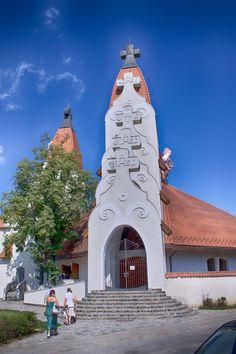 Makovecz Temple Csikszereda HDR