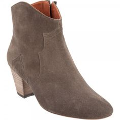 Isabel Marant Dicker Suede Ankle Boots Grey 2012  $199.00